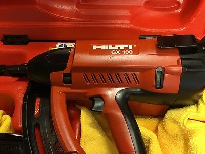 5 Of 12 Hilti Gx 100 Gas Powered Actuated Nail Gun, Preowned, Free Thermo,  Fast Ship