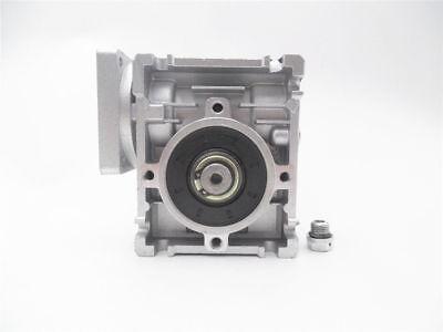 1PC NMRV-030 Worm Gear Speed Reducer NEMA23 Ratio 10 20 30 40 50 60 80:1 57*57mm 5