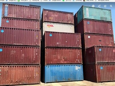 20' Cargo Worthy Shipping Container / 20ft Storage Container in St. Louis, MO 8