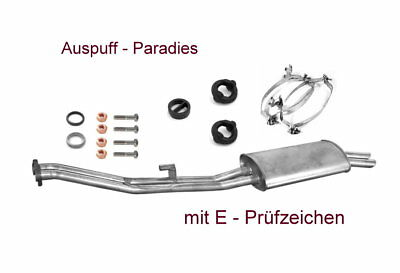 Auspuff für BMW 3er E30 320 325 320i e 2.7 Ø=43mm Endschalldämpfer 5534