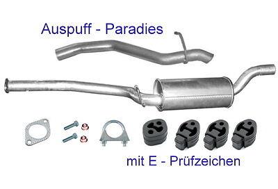 Ford Focus II 2.0 TDCi 81//100KW Kombi mit DPF 2004-2011 Auspuff Abgasanlage 0318