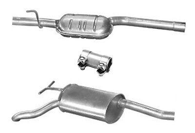 + Kit 210.035 210.037 /& E 230 Abgasanlage Auspuff Mercedes Benz W210 E 200