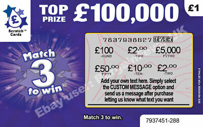 PERSONALISED HOLIDAY REVEAL Surprise Announcement Scratch Card Scratchcard 6