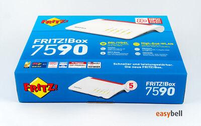AVM FRITZ!Box 7590 Dual-Band WLAN Router, MU-MIMO, Supervectoring VDSL, wie neu 5