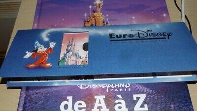 Livre Disneyland Paris De A A Z Neuf Sous Blister Texte Fr