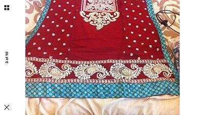 Stunning Asian Pakistani Indian Designer Dress For Parties And Weddings REDUCED 2