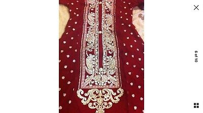 Stunning Asian Pakistani Indian Designer Dress For Parties And Weddings REDUCED 5