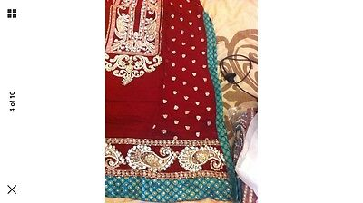 Stunning Asian Pakistani Indian Designer Dress For Parties And Weddings REDUCED 3