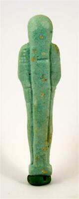 Egypt Late Period 26th-30th Dynasty blue glazed shabti for Pasinebu. 2