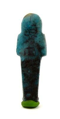 Egypt Third Intermediate Period 21th-22th Dynasty blue faience shabti 2