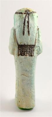 Egypt TIP 21/22th Dynasty blue faience shabti of Pa-Di-Khonsu 2