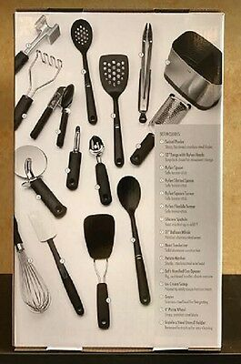 Charmant ... OXO Good Grips 15 Piece Everyday Kitchen Tool Set Heat Resistant NEW