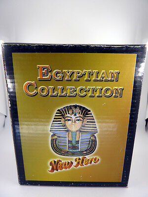 Egyptian Winged Isis Clock, Fine Ancient Egyptian Statues 5