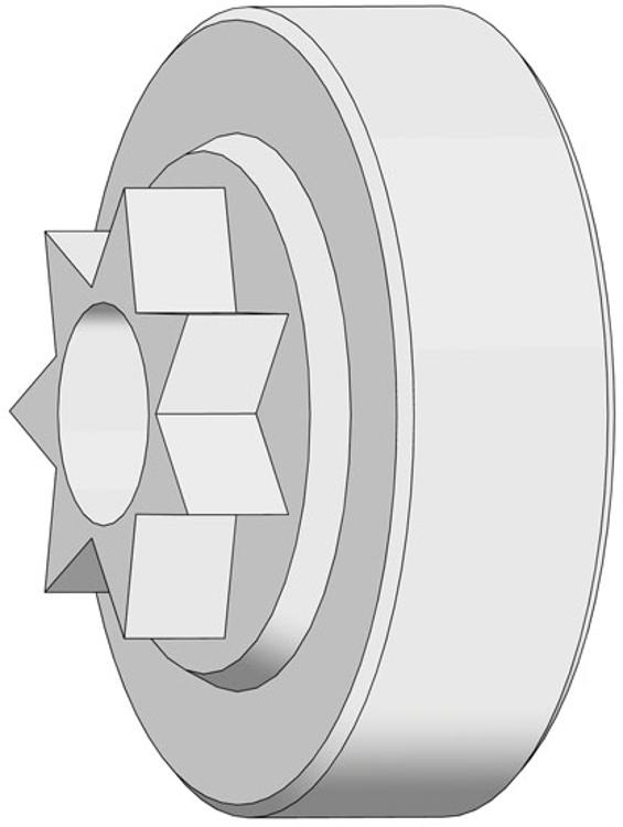 """Kettenrad 3//8/"""" Z-6 Echo CS-310ES"""
