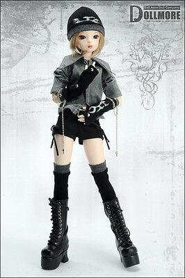 Marigold Enamel Sandal Dollmore 1//4 BJD  Scale Size MSD Black