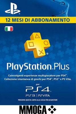 PLAYSTATION PLUS Abbonamento 12 Mesi 365 GIORNI 1 anno PSN PS4 PS3 PS Vita - IT 2