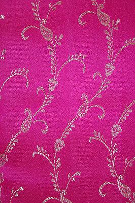 Fertig gewickelter Bollywood Sari Indien Pink in 3 Größen 2