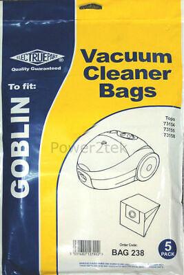 10 x Type 00 Vacuum Cleaner Bags for Goblin Topo 73157 Hoover UK 6