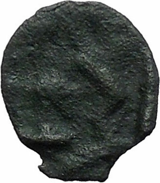 ISTROS Thrace 500BC Wheel Money Authentic Ancient Greek Coin BLACK SEA i48210 2