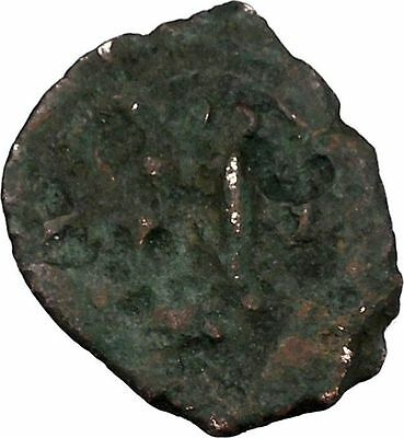 Heraclius with two sons  610AD Medieval Ancient Byzantine Coin i42659 2