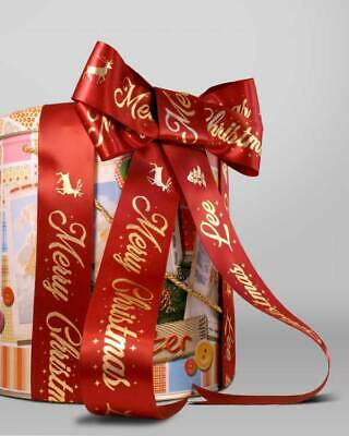 15mm HIGH QUALITY PERSONALISED RIBBON BIRTHDAY, XMAS, EASTER, CHRISTENING & MORE 12