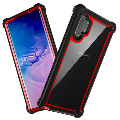 For Samsung Galaxy Note 10 Plus Shockproof Protective Case Rugged Hybrid Cover 7