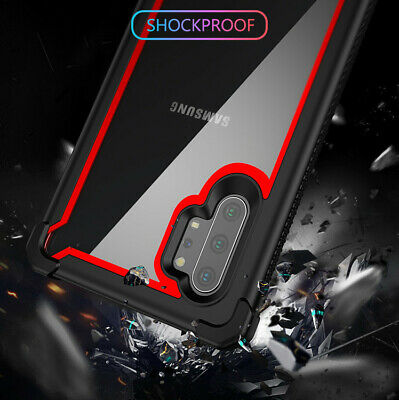 For Samsung Galaxy Note 10 Plus Shockproof Protective Case Rugged Hybrid Cover 4