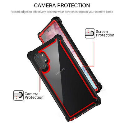For Samsung Galaxy Note 10 Plus Shockproof Protective Case Rugged Hybrid Cover 2