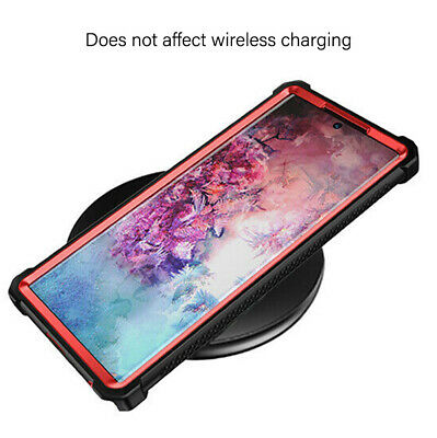 For Samsung Galaxy Note 10 Plus Shockproof Protective Case Rugged Hybrid Cover 5
