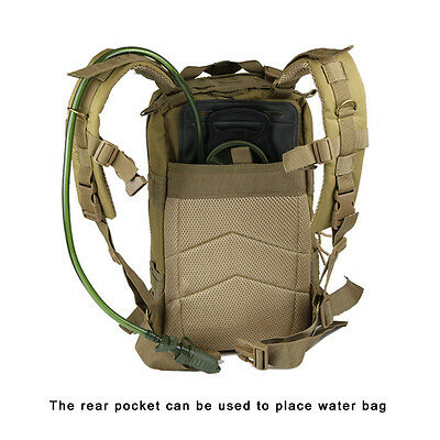 Hiking Camping Bag Army Military Tactical Trekking Rucksack Backpack Camo  30L 8