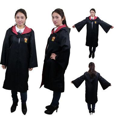 Harry Potter Cape Costume Cosplay Manteau écharpe Cravate Gryffindor Slytherin 6