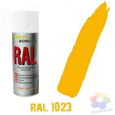 Bomboletta Spray Acrilico Colori Ral Vernice Graffiti Rapida Essiccazione 400 Ml 12