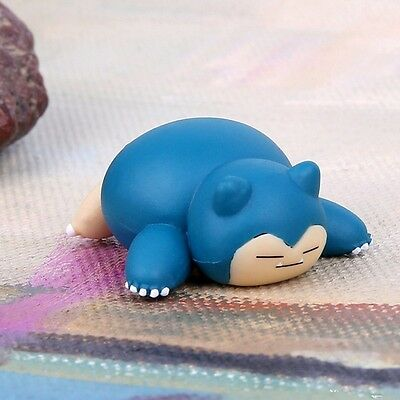 2018 New 5pcs Pokemon Go Snorlax Figure Toys Collection Pvc Dolls Decoration 4cm