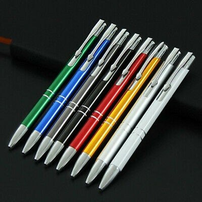 Personalised Custom Engraved Promotional Metal Pens Wedding Business Bulk Gifts 10