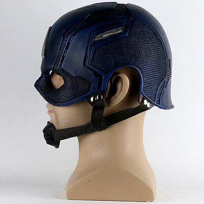 Captain America Helmet Cosplay 2018 Infinity War Helmet Crossbones Helmet PVC