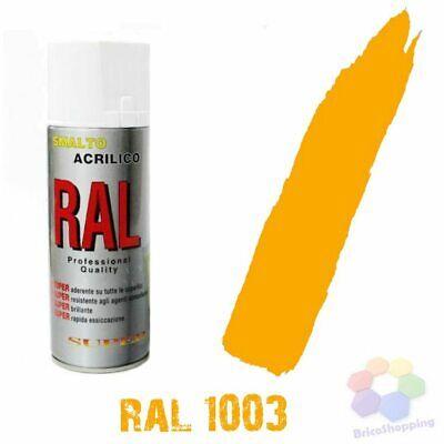 Bomboletta Spray Acrilico Colori Ral Vernice Graffiti Rapida Essiccazione 400 Ml 2