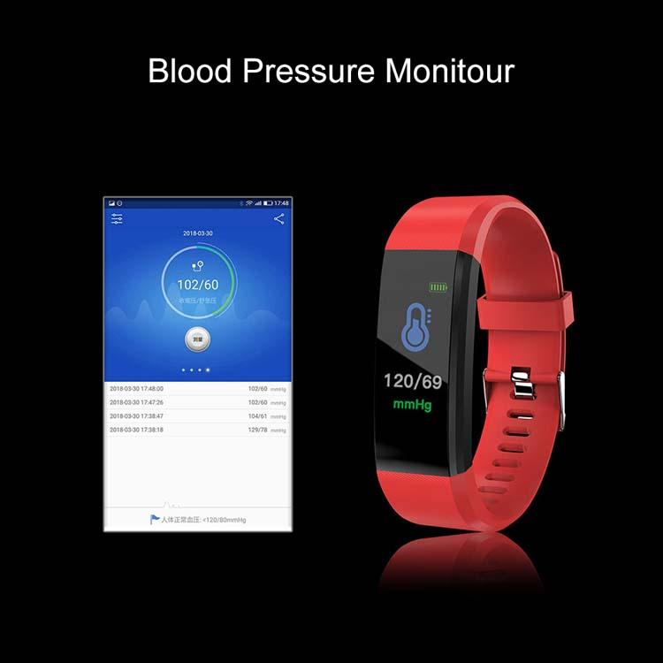 Smart Watch Bracelet Wristband Fitness Heart Rate BP Monitor iPhone Android 7