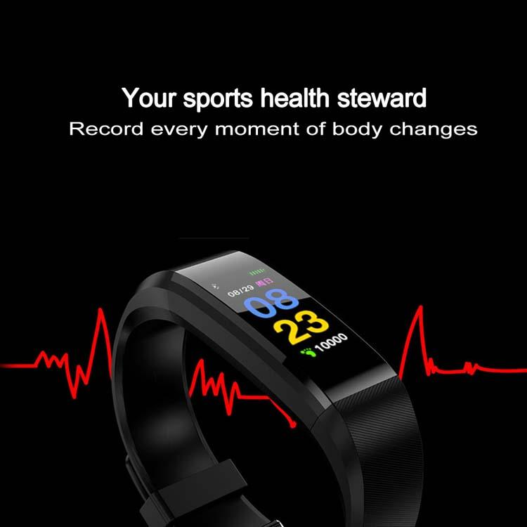 Smart Watch Bracelet Wristband Fitness Heart Rate BP Monitor iPhone Android 4
