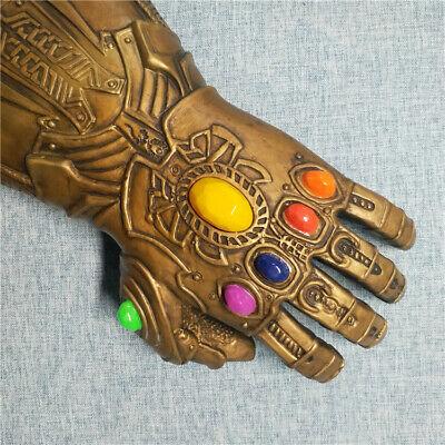 Thanos Infinity Gauntlet Glove Cosplay Avengers Endgame Infinity War Flash LED 4