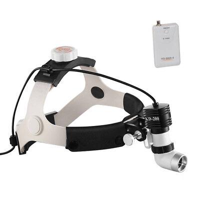 5W 6000K 80000lx LED Surgical Headlight Super-bright Medical Dental Head Lamp UK 3