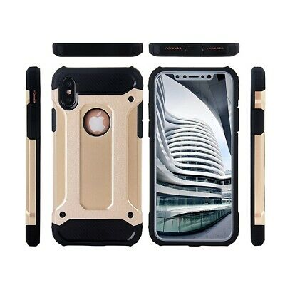 Hybrid Shockproof Heavy Duty Rubber Cover Case Fits In iPhone XR/ XS MAX/ XS/ X 2
