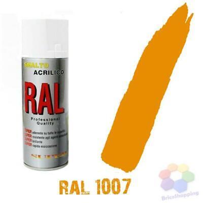 Bomboletta Spray Acrilico Colori Ral Vernice Graffiti Rapida Essiccazione 400 Ml 5