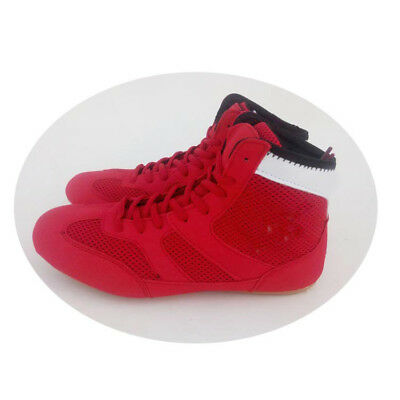 Mens MMA Gym Wrestling Shoes Boxing Boots Fitness trainer High top Athletic Gift