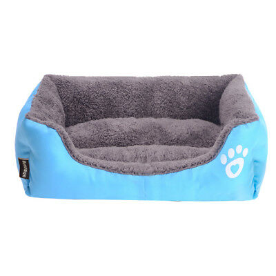 Large Pet Dog Cat Bed Puppy Cushion Mats House Waterproof Kennel Warm Blanket UK 4