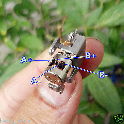 5Pcs DC 3V-5V 2-Phase 4-Wire Micro Mini Stepper Motor with metal slider block 3