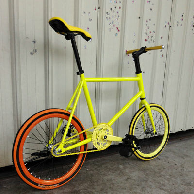 25.4x380mm Aluminum Straight FixedGear Bike Handlebar Fixie Bicycle Handle Bar