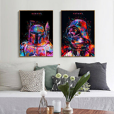 Star Wars Movie Characters Canvas Poster Print Painting Modern Home Wall Decor 2