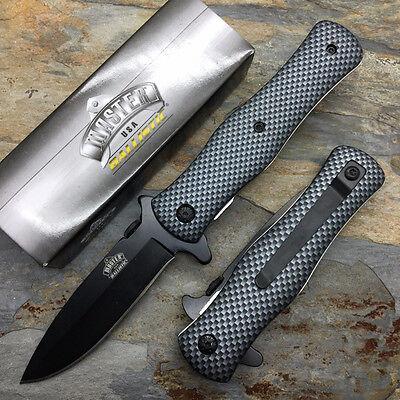 "8"" MASTER USA TACTICAL FOLDING SPRING ASSISTED KNIFE Blade Pocket Open Assist 5"