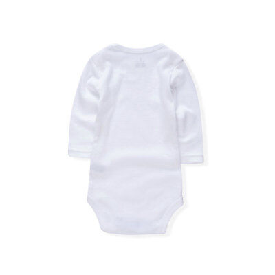 Infant Newborn Baby Girl Boy 100% Cotton Romper Bodysuit Jumpsuit Outfit Clothes
