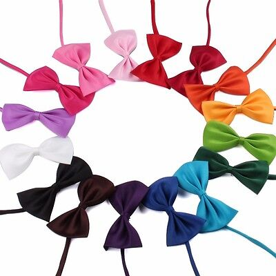 Adjustable Pet Bow Tie Various Colours - Cat, Dog, Rabbit & Puppy Clothes Collar 5